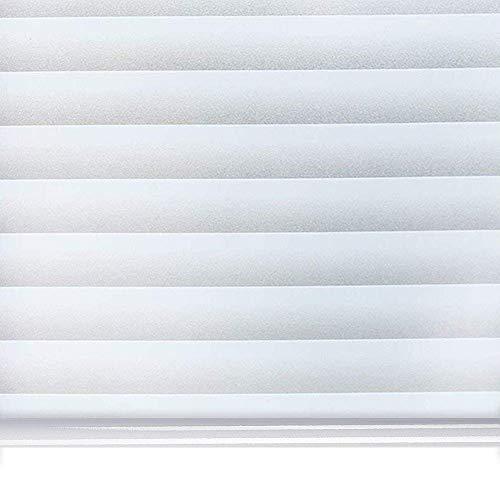 窓に貼るブラインド 目隠しシート ガラスフィルム 断熱シート 紫外線カット 遮光 飛散防止 静電気吸着 めかくし シート シール 貼ってはがせる 外から見えない 網ガラスも適用(ブラインド 90 * 200cm)