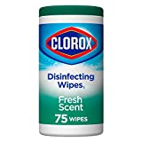 Clorox Disinfecting Wipes, Fresh Scent, 75ct
