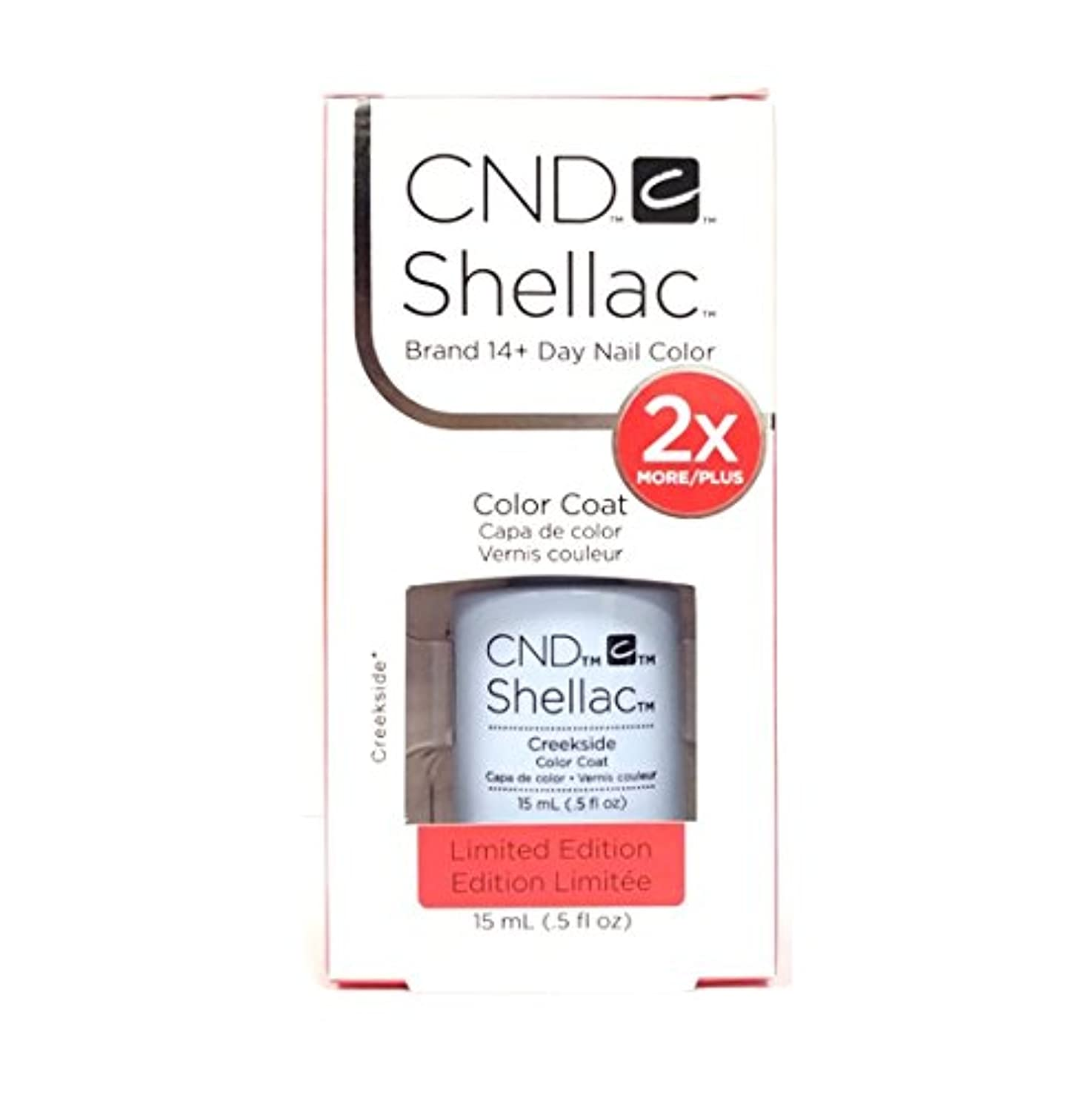 極地メイド下CND Shellac - Limited Edition! - Creekside - 15ml / 0.5oz