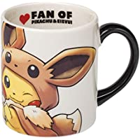 ポケモン(Pokemon) ポケモンセンターオリジナル マグカップ FAN OF PIKACHU&EIEVUI