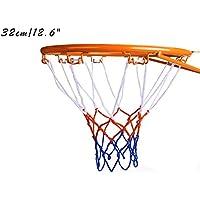 Dream Travel 子供用バスケットボールフープ バスケットボールリムゴール 壁マウント インドア アウトドア 吊り下げ 32cm