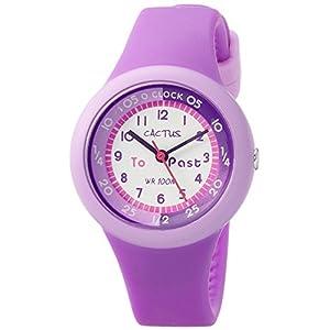 [カクタス]CACTUS キッズ腕時計 10気圧防水 パープル CAC-92-M09 ガールズ 【正規輸入品】