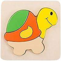 パズルゲーム子供のための4 PCS子供の木製パズル[タータルガ]