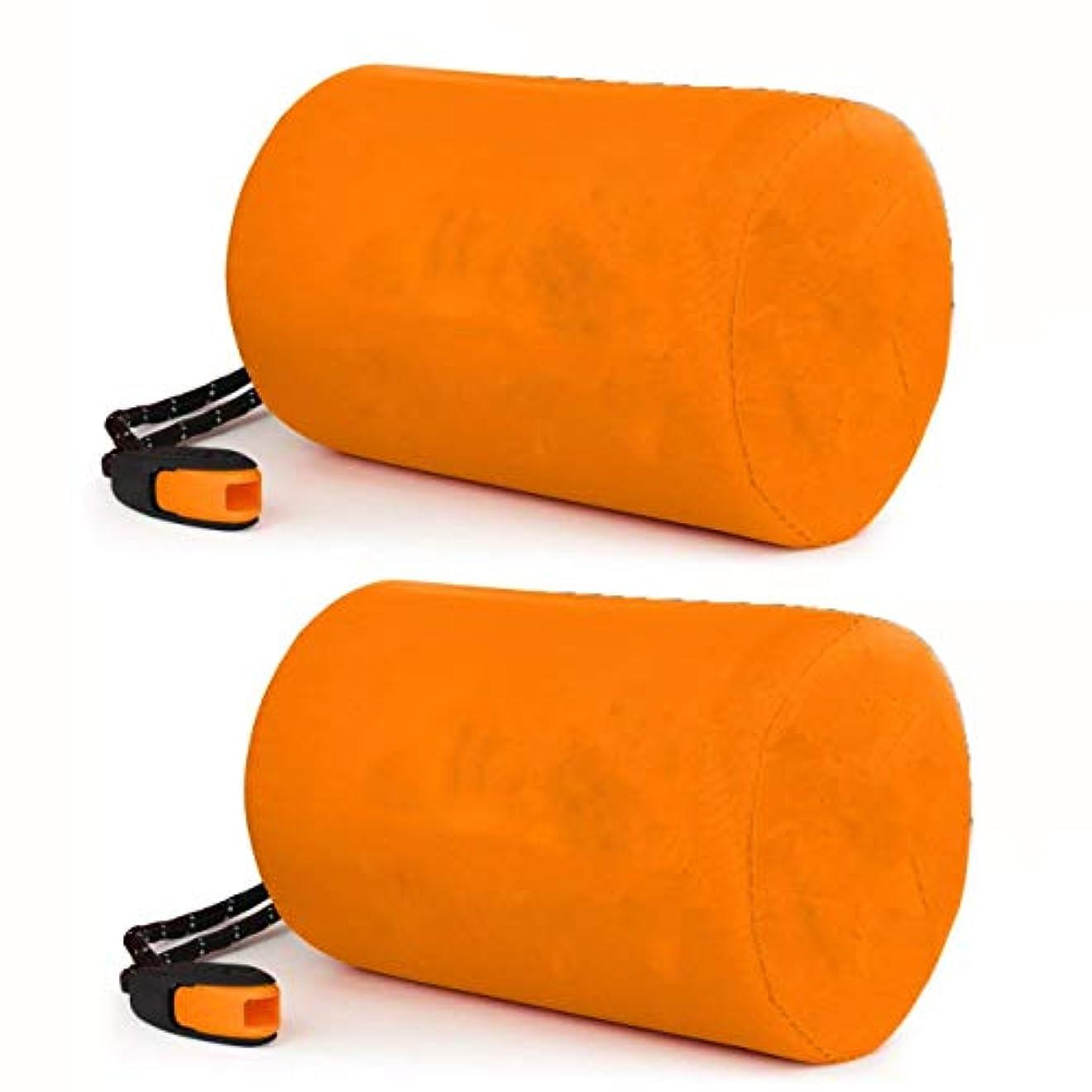 郊外辛なテクスチャー緊急寝袋、防水軽量サーマルビビーサック - サバイバルブランケットバッグポータブルナイロンサックキャンプ、ハイキング、アウトドアアクティビティ(2パック)