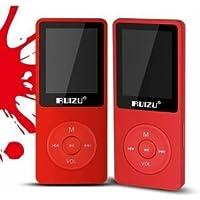 RuiZu X02 1.8 Inch TFT Screen HiFi 4G Sport Music Mp3 Player FM Recorder Alarm Clock (red)