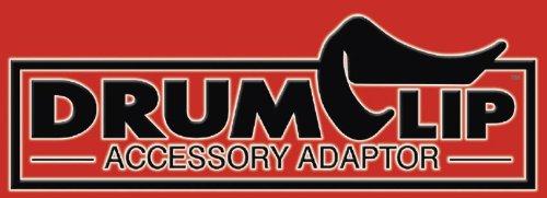 DrumClip ドラムミュート スネア・タム/フロアタム用 アクセサリーアダプター DCAA