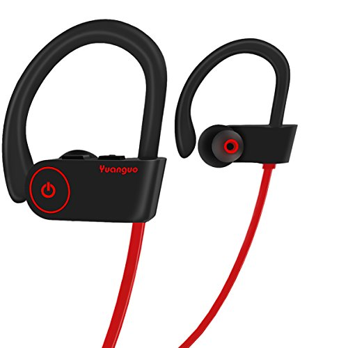 HolyHigh Y2 Bluetoothイヤホン スポーツ用 ブルートゥース イヤホン ワイヤレス イヤホン 防水防汗 無線 高音質 マイク付き 小さくて精巧 専用ケース付 iPhone/Androidに対応(レッド)