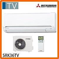 三菱重工 基本性能充実の省エネ基準達成モデル。ビーバーエアコンTVシリーズ(冷暖房時おもに12畳) SRK36TV-W
