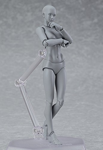 figma archetype next:she grey color ver. ノンスケール ABS&PVC製 塗装済み可動フィギュア