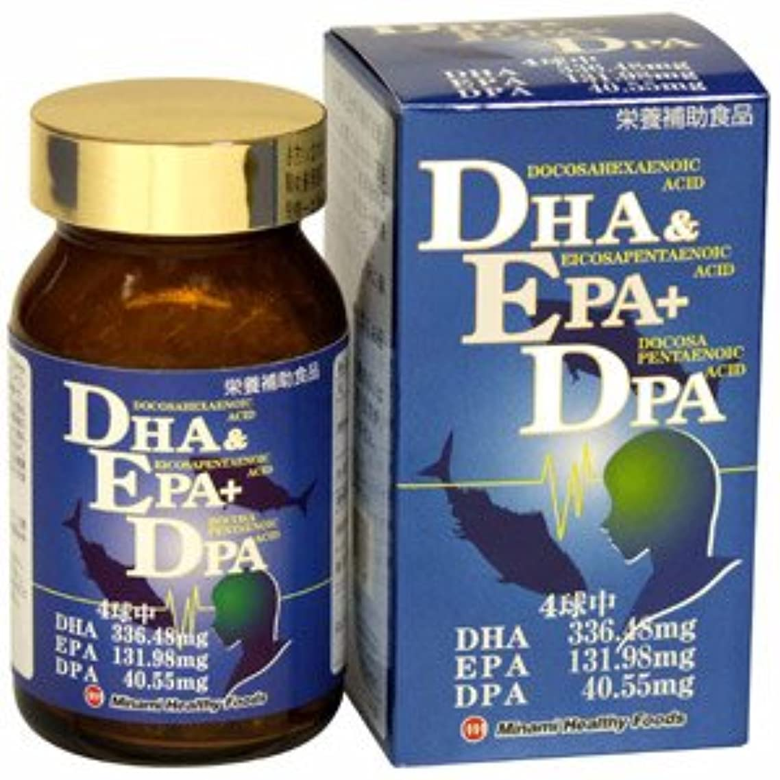 楽しませる裏切り者反映するDHA&EPA+DPA(単品)ミナミヘルシーフーズ