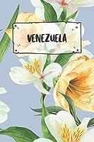 Venezuela: Liniertes Reisetagebuch Notizbuch oder Reise Notizheft liniert - Reisen Journal fuer Maenner und Frauen mit Linien