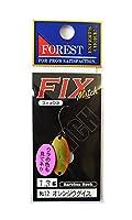 フォレスト(FOREST) スプーン フィックス マッチ 1.3g オレンジウグイス #12 ルアー