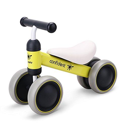 チャレンジバイク バランス三輪車 子供用 ベビーウォーカー 幼児1-3歳用 スクーターのフットペダル駆動 自転車車輪 幼児の贈り物