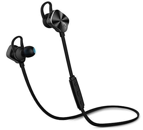 Mpow Wolverine Bluetooth 4.1スポーツヘッドセット ワイヤレスステレオヘッドセット ノイズ低減の仕組み iPhone&Android スマートフォンに対応