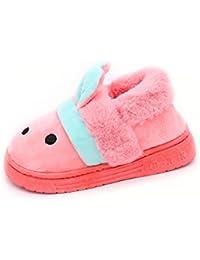 ANTETOKUPO 子供スリッポン 可愛い靴 秋冬 室内履き 15cm~18.5cm [並行輸入品]
