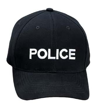 ROTHCO(ロスコ)インシグニア キャップ (ワンサイズ, POLICE/ブラック)