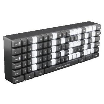 キーボード型時計 キーボードクロック MCE-3574