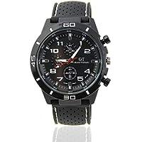 Men's Digital Sports Watch LED Screen Fashion Men Luxury Black Stainless Steel Analog Quartz Sport Wrist Watches Watchband
