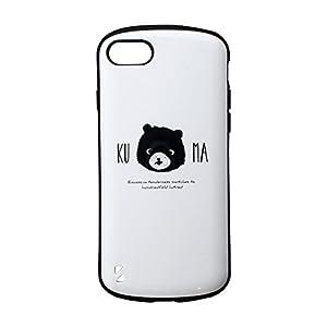 iPhone 8/7 耐衝撃ハイブリッドケース「PALLET Design」 くま LP-MIP7SHVCDB