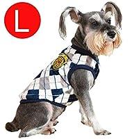 FidgetGear 小型ペットベスト子犬服犬猫Tシャツプリンセス衣装アパレルコスチューム 品 グレー