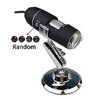 調節可能な明るさ携帯用1600X / 1000X 8 LED 2MPデジタルの顕微鏡のCMOSセンサーが付いている手持ち型の生物内視鏡