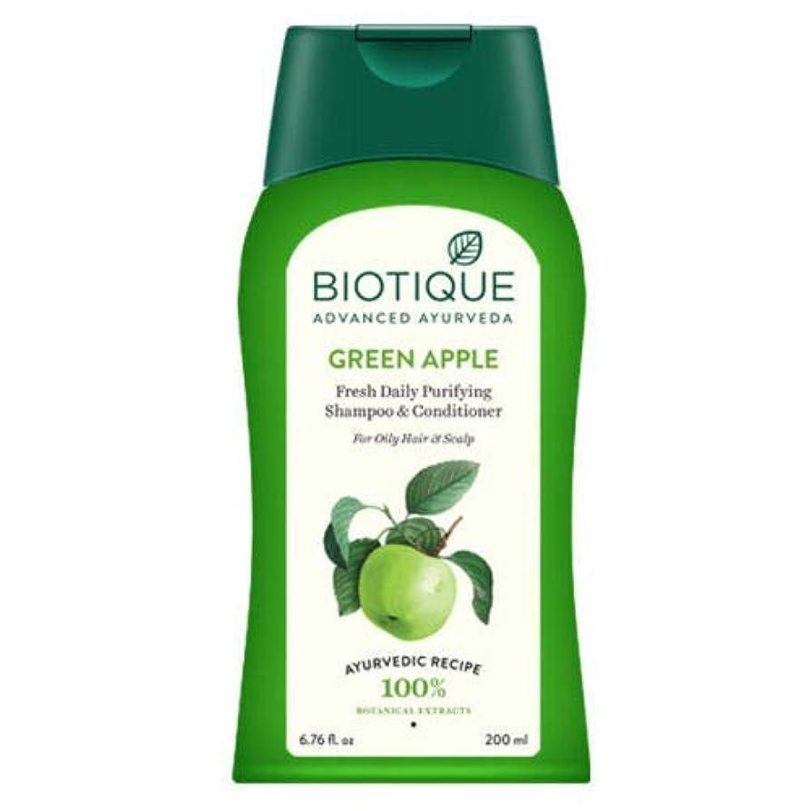 モール夫スクラップBiotique Bio Green Apple Shampoo & Conditioner 200ml natural minerals & proteins Biotiqueバイオグリーンアップルシャンプー&コンディショナー...