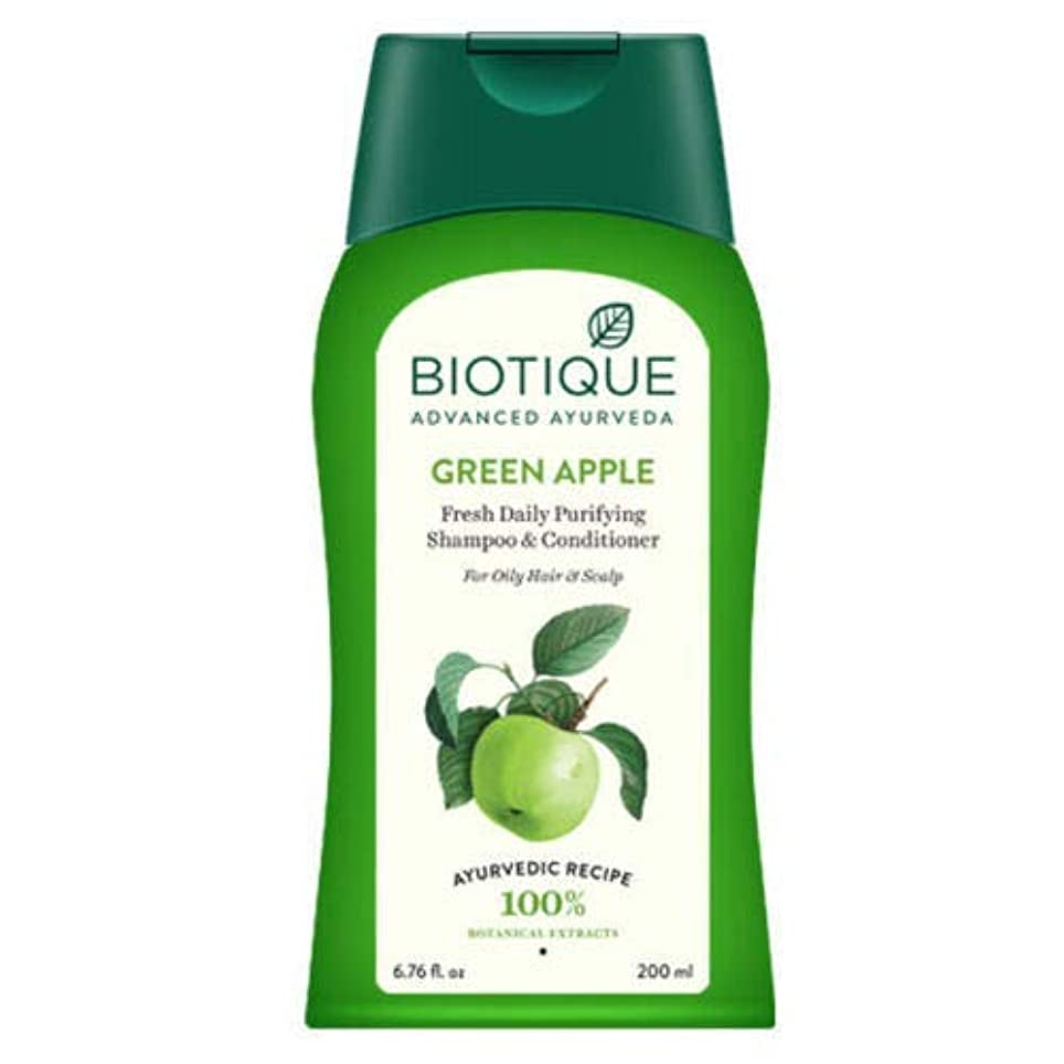 おとこそれからインターネットBiotique Bio Green Apple Shampoo & Conditioner 200ml natural minerals & proteins Biotiqueバイオグリーンアップルシャンプー&コンディショナー...