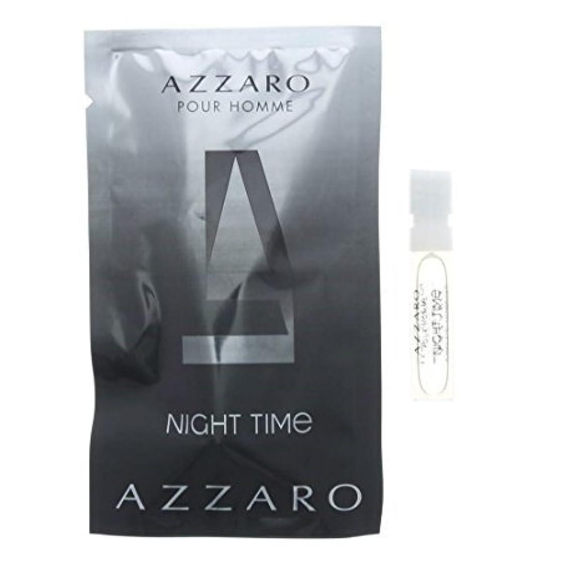 してはいけないピボット前提条件アザロ ナイトタイム プールオム オードトワレ 1.5ml AZZARO NIGHT TIME POUR HOMME EDT