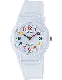 [シチズン キューアンドキュー]CITIZEN Q&Q 腕時計 Falcon ファルコン アナログ表示 10気圧防水 ウレタンベルト ホワイト マルチカラー VS06-001