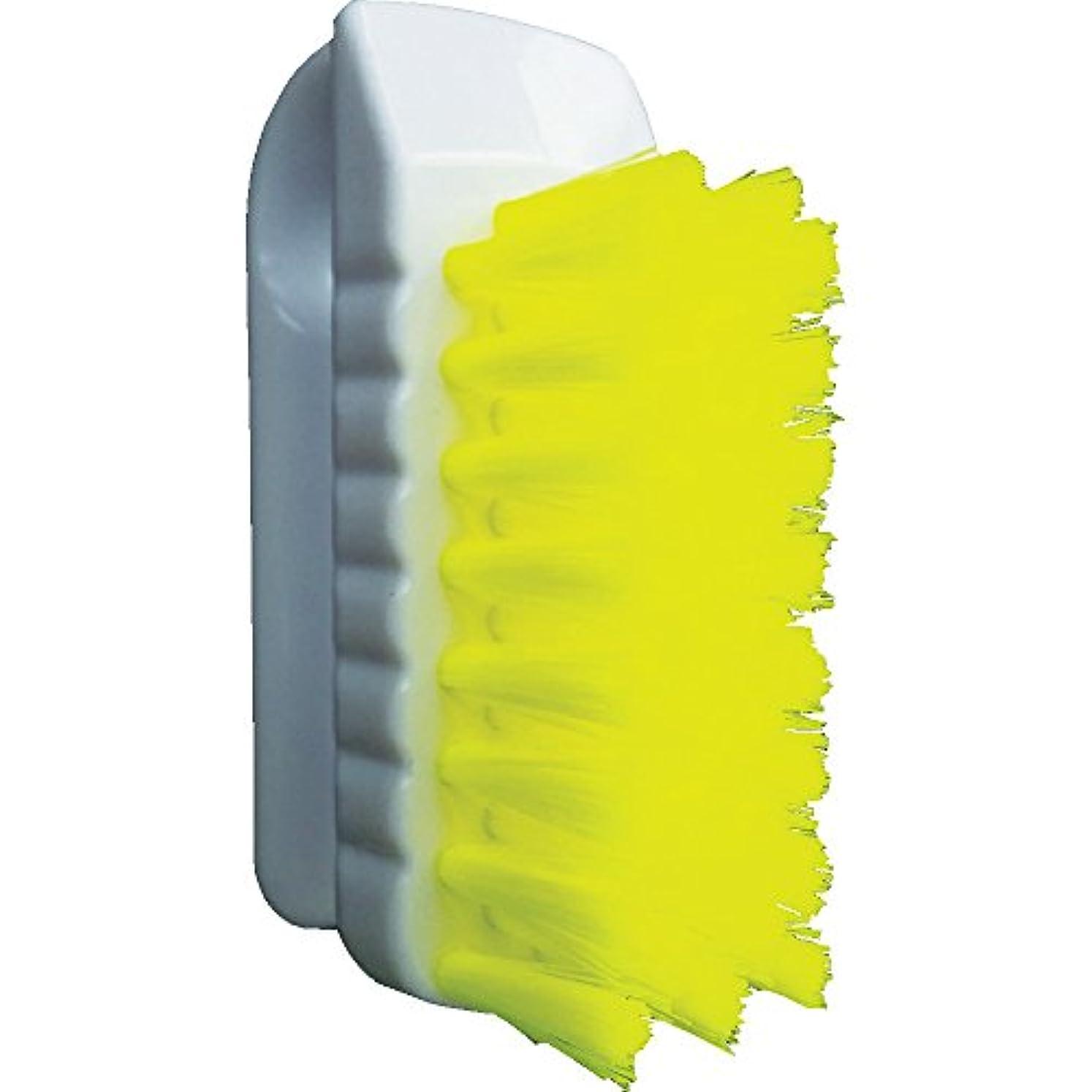 ノーブル借りるペイントバーテック バーキュート 私の爪ブラシ 黄 BCN-Y 61700301 つめ除菌ブラシ