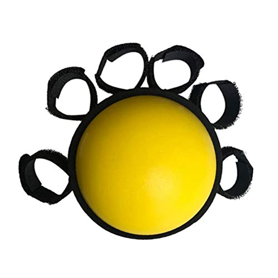 LIOOBO ハンドグリップ強化トレーニングワークアウトグリップ強度トレーナー指強化ボール用筋肉強化トレーニングツール関節炎指ハンドリハビリテーション