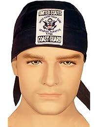 Specialtyスカルキャップ – 米国沿岸警備隊パッチon Navy