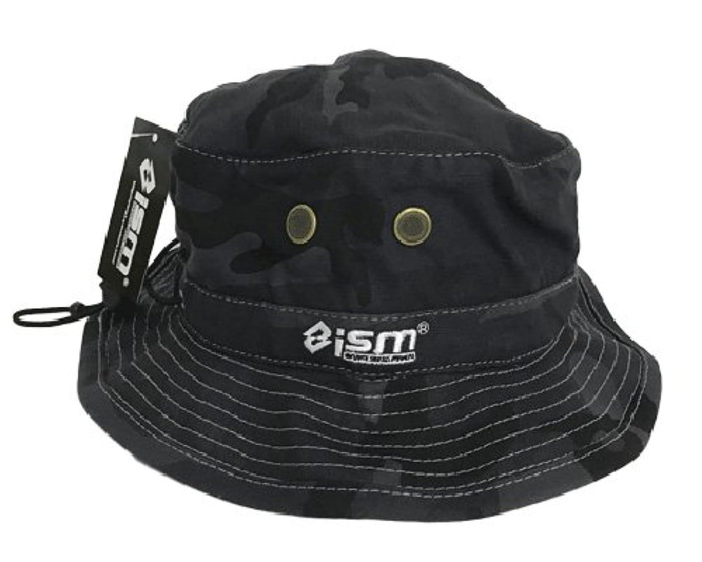 毎回オリエンテーション襲撃イズム(ism) ism Camo Hat N-H-001 ネイビーカモ/ホワイト.