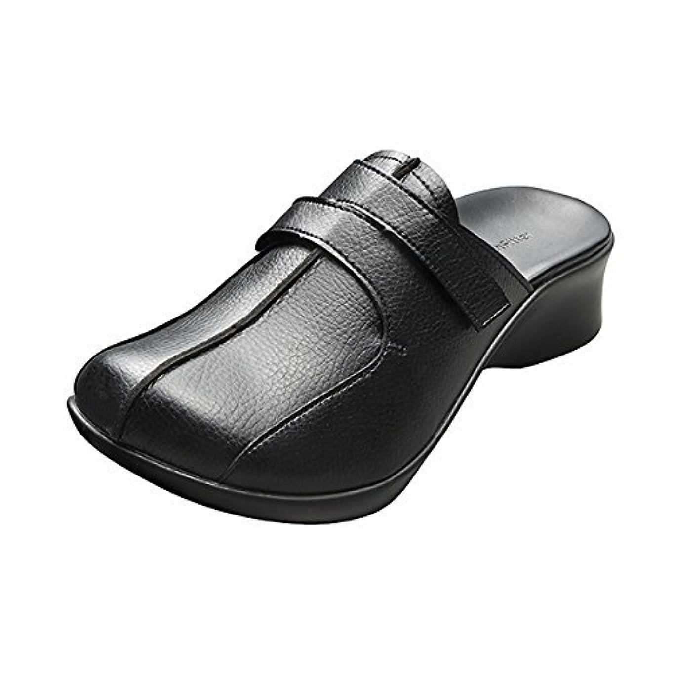 マラウイ理容師アーチフィッター 108 クロッグ ブラック S