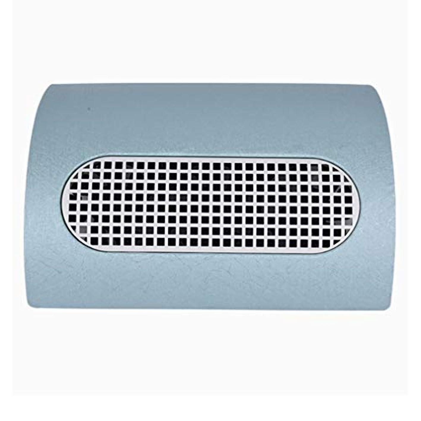 新着オペラカウンタ3つのファン釘の塵のコレクターのマニキュア機械 15W 2 つのレベルの速度を調節する釘の集じん器の釘の塵2の塵袋,ブルー