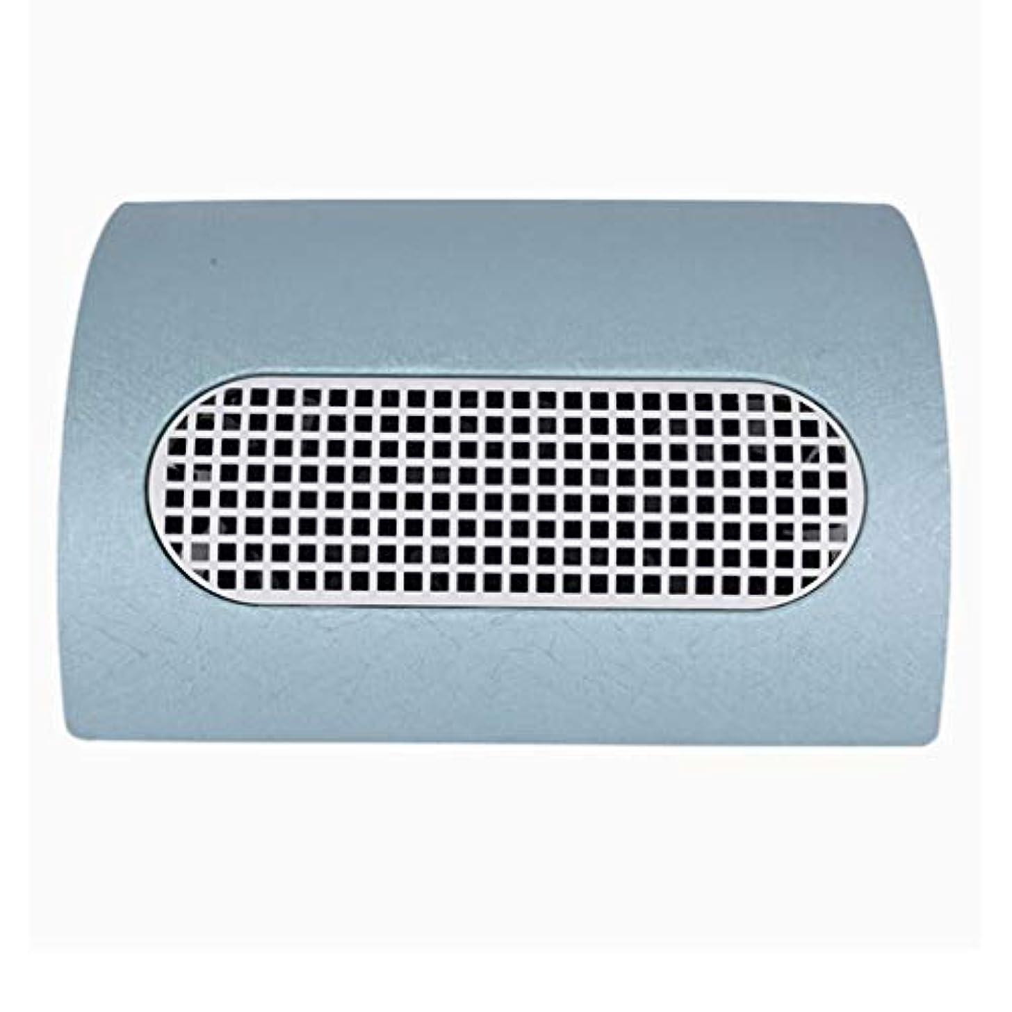 エンティティ煙扱う3つのファン釘の塵のコレクターのマニキュア機械 15W 2 つのレベルの速度を調節する釘の集じん器の釘の塵2の塵袋,ブルー