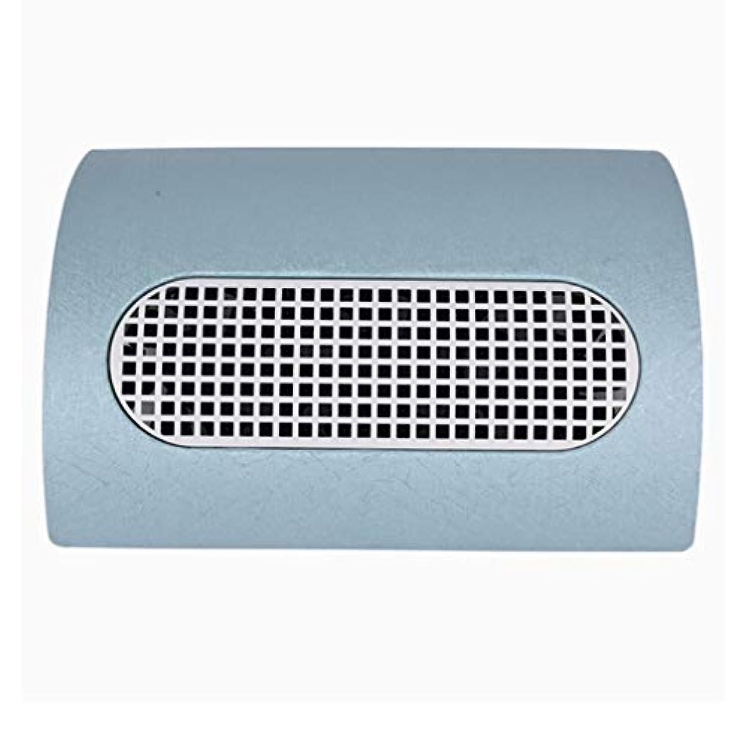 男やもめキャリア廊下3つのファン釘の塵のコレクターのマニキュア機械 15W 2 つのレベルの速度を調節する釘の集じん器の釘の塵2の塵袋,ブルー