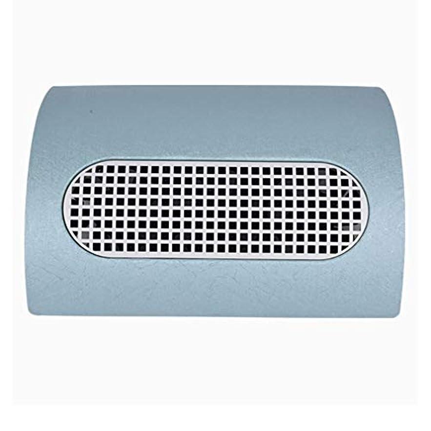 バンカーフォロー仕事に行く3つのファン釘の塵のコレクターのマニキュア機械 15W 2 つのレベルの速度を調節する釘の集じん器の釘の塵2の塵袋,ブルー