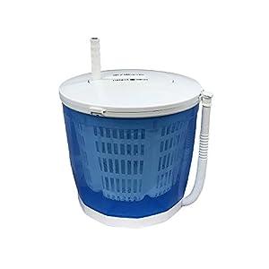 電源不要!手動式パワフル洗濯機【MyWave ハンドルウォッシュ】分け洗いや野菜の水切り器、サラダスピナーにも!