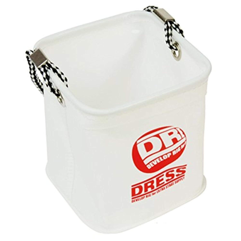 病的抑制文化ドレス(DRESS) 水くみバケツ LD-OP-0912 ホワイト/レッド S