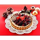 *クリスマスケーキ予約販売*【12/22(土)お届け】ベイクド・アルル 「クリスマス5種のベリーレアチーズタルト (5号サイズ)」
