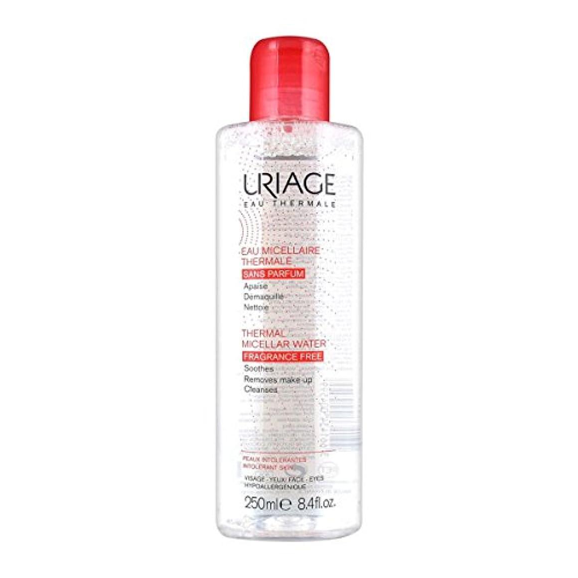 洗練オフェンス悪行Uriage Thermal Micellar Water Fragrance Free Intolerant Skin 250ml [並行輸入品]