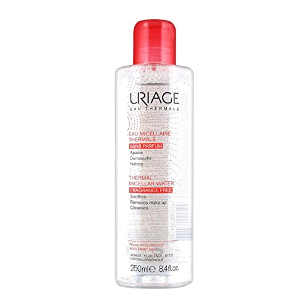 まばたき宣言する漏れUriage Thermal Micellar Water Fragrance Free Intolerant Skin 250ml [並行輸入品]