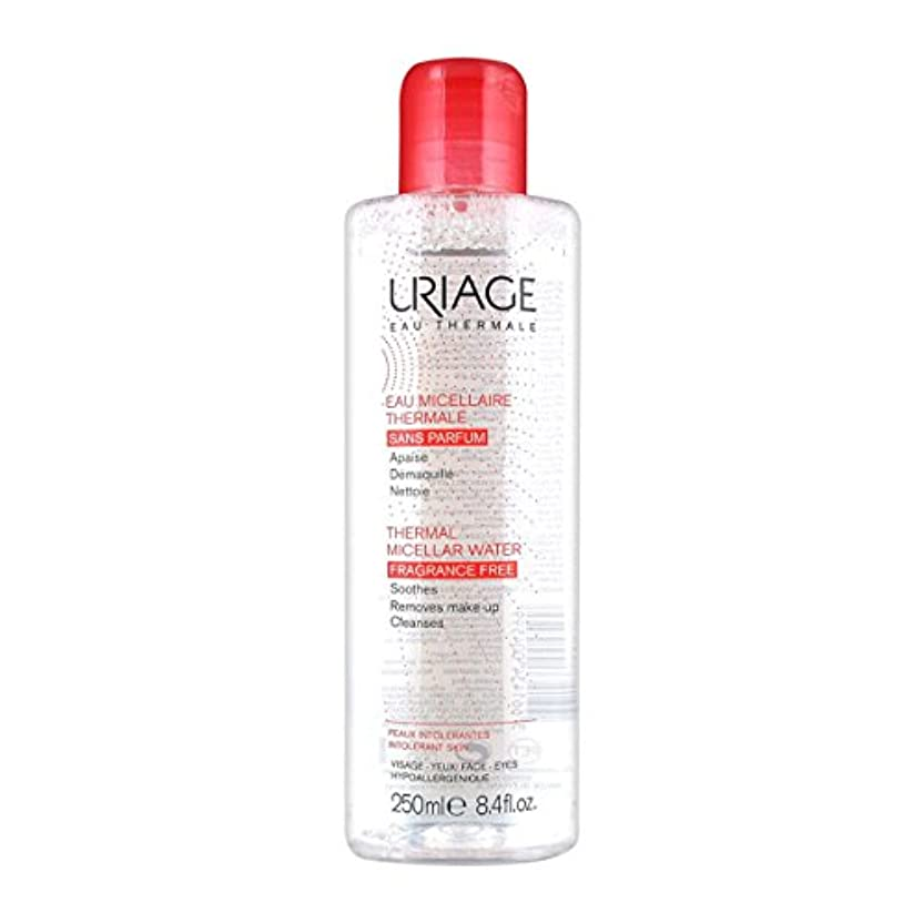 いたずら特徴づけるいたずらUriage Thermal Micellar Water Fragrance Free Intolerant Skin 250ml [並行輸入品]