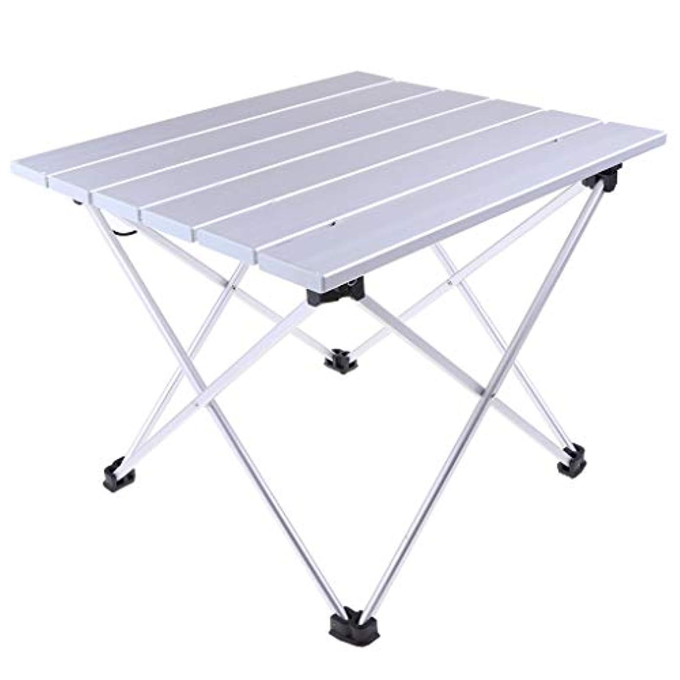 美容師レンチ不毛B Baosity アルミ 折りたたみ テーブル ピクニック キャンプ 釣り用 全2サイズ