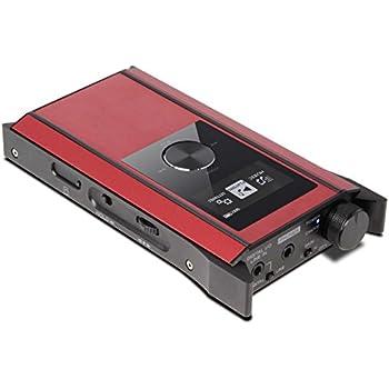 TEAC ポータブルアンププレーヤー ハイレゾ音源対応 レッド HA-P90SD-R