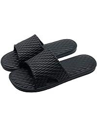 ビーチサンダル スリッパ 超軽量 抗菌衛生 歩きやすい 滑り止め 静音 男女兼用 子供用大人用 (XL 28.5cm, ブラック)