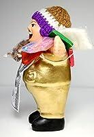 ★EKEKO 15cm GOLD★ペルー直輸入のエケコ人形 15cm 光沢ゴールド・金色【当店 Vivas Latin Shop オリジナル モデル】ペルー産