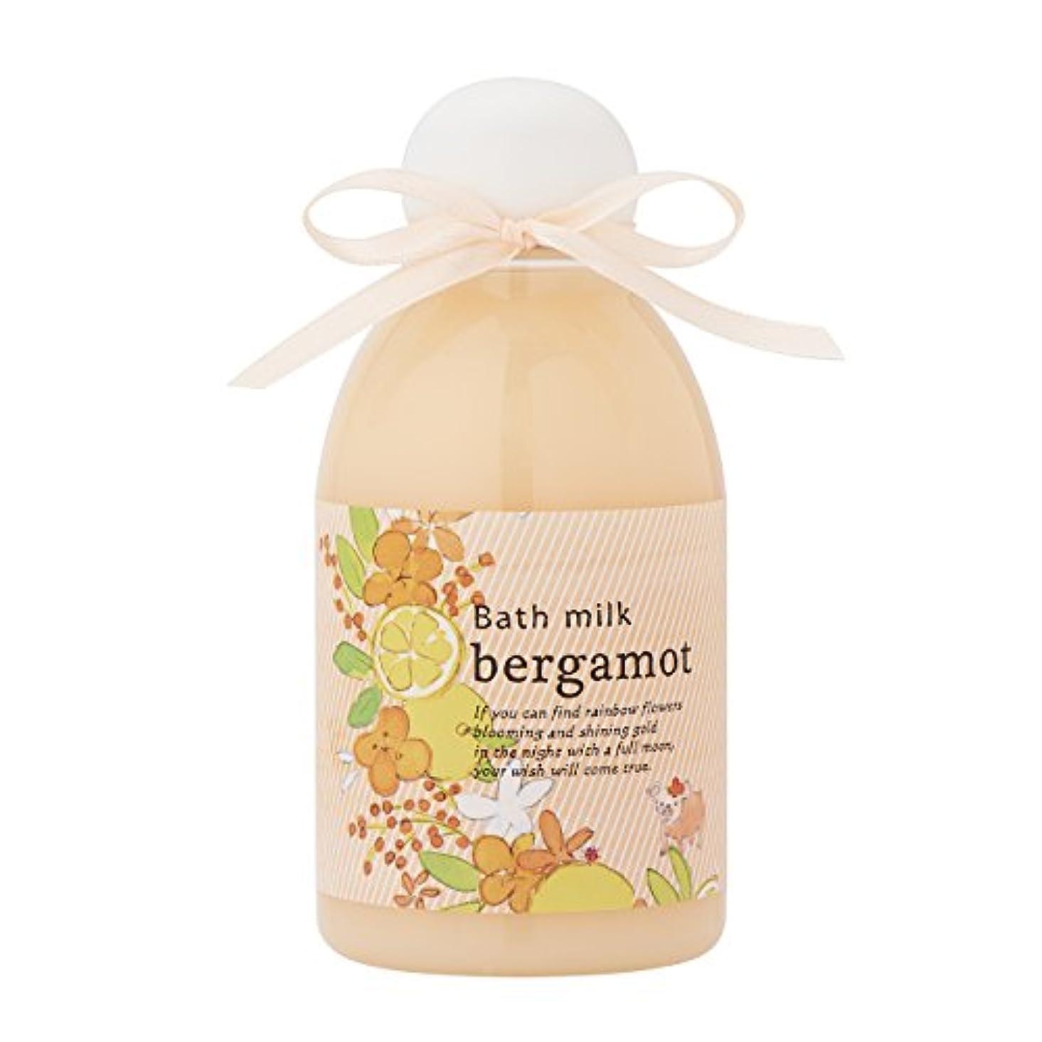 メジャー呼ぶ告白するサンハーブ バスミルク ベルガモット 200ml(バブルバスタイプ入浴料 泡風呂 懐かしい甘酸っぱい香り)