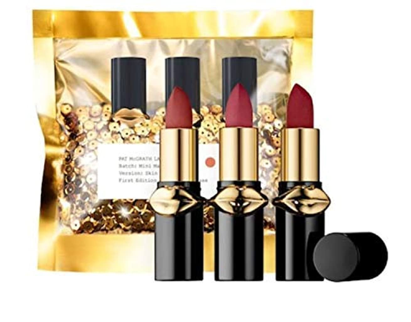 優しいコマンド言い聞かせるPAT MCGRATH LABS LUST: Mini MatteTrance™ Lipstick Trio (Skin Show)